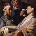Rembrandt Harmenszoon Van Rijn - Unconscious Patient (Allegory of Smell)