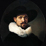 Portrait of a Bearded Man, Rembrandt Harmenszoon Van Rijn