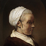 Elderly Woman in a White Cap, Rembrandt Harmenszoon Van Rijn