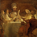 Rembrandt Harmenszoon Van Rijn - The Conspiration of the Bataves