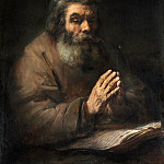 Old man praying [follower], Rembrandt Harmenszoon Van Rijn