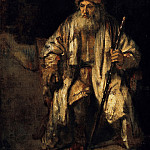 Rembrandt Harmenszoon Van Rijn - The old man with the red cap