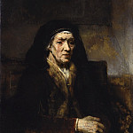 Portrait of a Seated Woman with her Hands Clasped, Rembrandt Harmenszoon Van Rijn