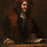The Man with the Red Cap, Rembrandt Harmenszoon Van Rijn