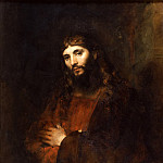 Christ with Arms Folded, Rembrandt Harmenszoon Van Rijn