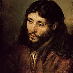 Rembrandt Harmenszoon Van Rijn - Head of Christ