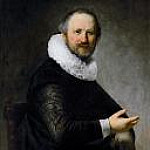 Rembrandt Harmenszoon Van Rijn - Portrait of a Seated Man