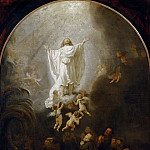 Ascension, Rembrandt Harmenszoon Van Rijn