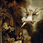 Archangel Raphael Leaving the Family of Tobit, Rembrandt Harmenszoon Van Rijn