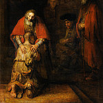 Rembrandt Harmenszoon Van Rijn - The Return of the Prodigal Son