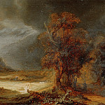 Landscape with the Good Samaritan, Rembrandt Harmenszoon Van Rijn