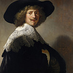 Rembrandt Harmenszoon Van Rijn - Portrait of Antonie Coopal [and workshop]