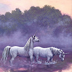 Ruth Sanderson - Sanderson, Ruth - Unicorns 07 (end