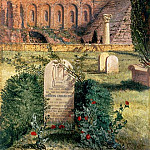 Keats Grave in the Old Protestant Cemetery in Rome