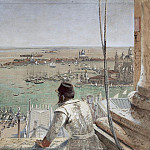 The Basin of San Marco from the Campanile, Venice, M B Von Arco