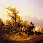 William Shayer - Shayer_William_The_Road_To_Market