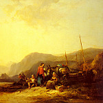 William Shayer - Shayer_William_On_The_Hampshire_Coast