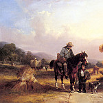 William Shayer - Shayer_Sr_William_Harvesters_Resting