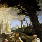 Pier Francesco Mola - Vision of Saint Romuald