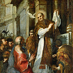 Bartolomeo Montagna - Saint Gregory and the Miracle the Corporal (copy)
