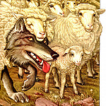 AfII 0003 The Wolf in Sheeps Clothing CharlesSantore sqs, Charles Santore
