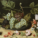 Gustaf Wilhelm Palm - Still Life with Fruit and Flowers [Attributed]