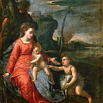 Holy Family with the Infant John the Bapist