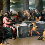 Scarsellino (Ippolito Scarsella) - Supper in the House of Simon the Pharisee