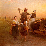 Hugo Federick Salmson - Salmson_Hugo_Federick_Return_From_The_Fields