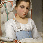 Giovanni Francesco Romanelli - Portrait of a Young Girl