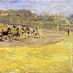 Edvard Munch - Harness racing