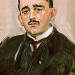 August Macke - Portrait of Bruno Cassirer