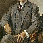 Alexander Kanoldt - Portrait of Hermann Sudermann