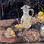 Ernst Ludwig Kirchner - Still-Life with Lemons