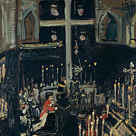 Lovis Corinth - Requiem Mass of Saint George
