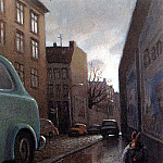 Michael Sowa - Sa32 Rabbit on a Rainy Street MichaelSowa sqs