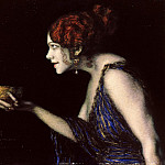 Odilon Redon - Tilla Durieux as Circe