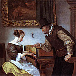 Jan Havicksz Steen - STEEN_Jan_The_harpsichord_Lesson