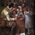 Jan Havicksz Steen - Steen The Schoolmaster, 1663-65, oil on canvas, National Gal