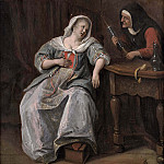 Jan Havicksz Steen - The Sick Woman