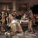 Jan Havicksz Steen - STEEN_Jan_The_Bean_Feast