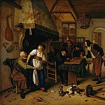 Jan Havicksz Steen - Steen Jan Tweeлrlei spel Sun