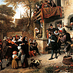 Jan Havicksz Steen - Steen Jan A village wedding Sun