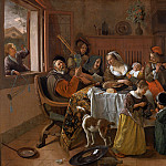 Jan Havicksz Steen - Ян Стен - Весёлая семейка [The Merry Family]