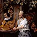 Jan Havicksz Steen - Steen Jan Baker Oostwaert and his wife Sun