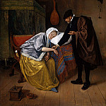 Jan Havicksz Steen - Steen Jan The sick woman Sun