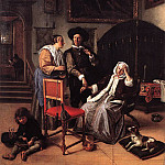 Jan Havicksz Steen - STEEN_Jan_Doctors_Visit
