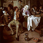 Ян Стен - Steen_Jan_Interior_Of_A_Tavern