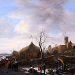 Jan Havicksz Steen - Winter scene