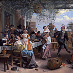 Jan Havicksz Steen - The Dancing Couple